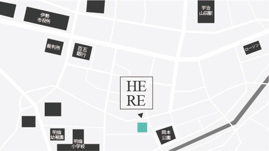 ikkyu.head spa salonの地図